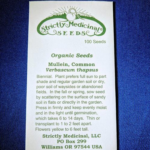 Mullein, Common (Verbascum thapsus) seeds, organic
