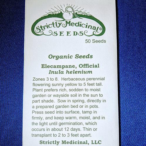 Elecampane, Official (Inula helenium) seeds, organic