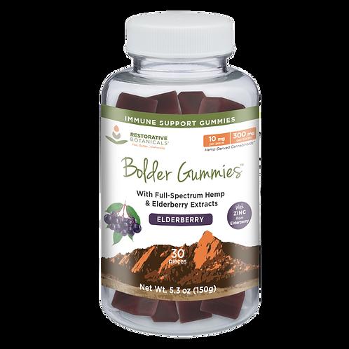 Elderberry Gummies with Full-Spectrum Hemp and Zinc - 10 mg/piece
