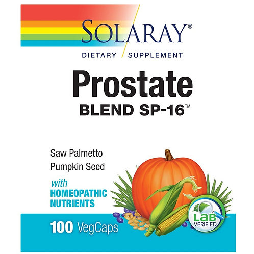 Solaray Prostate Blend SP-16 100 count