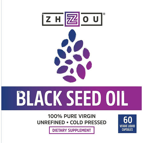 Zhou Black Seed Oil 60 count