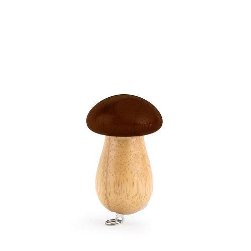 Foraging Mushroom Tool Keychain