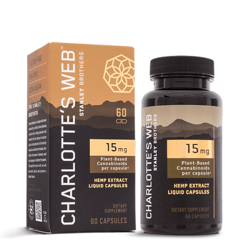 Charlotte's Web Liquid Capsule 15mg (60ct)