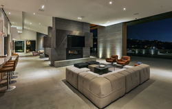 Gilcrest Living Room Night