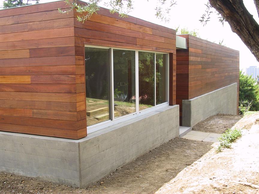 Whitley Terrace Wood Siding