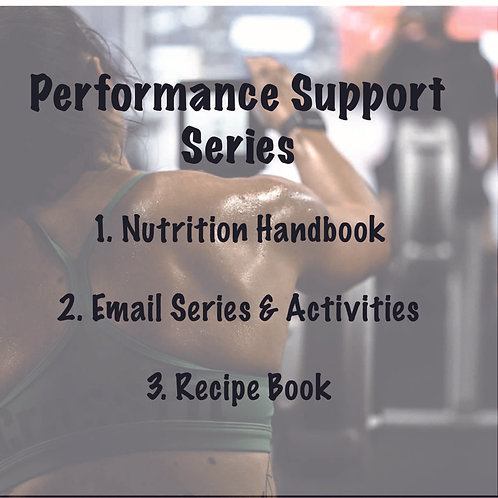 Performance Support Series