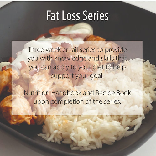 Fat Loss Support Series