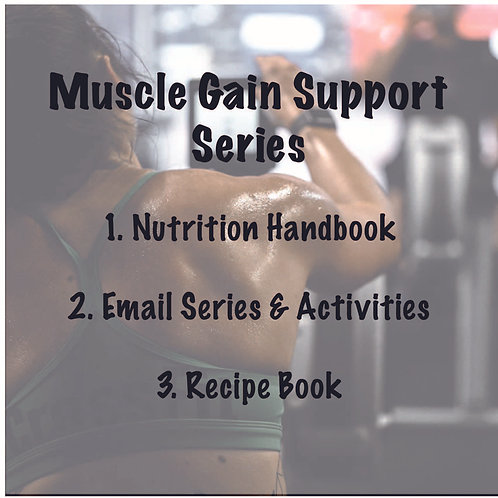 Muscle Gain Support Series
