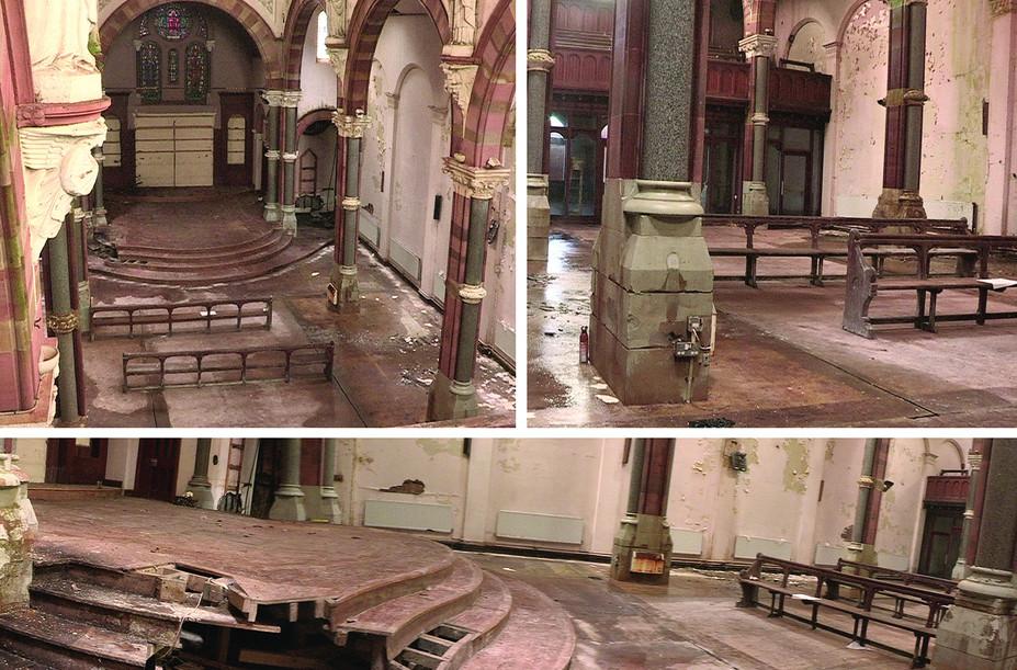 Church dereliction