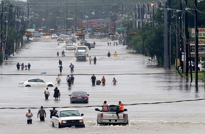 Flood of compassion