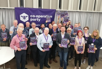 The Annual Conference of the Co-operative Party Northern Ireland took place on Saturday 22nd June in