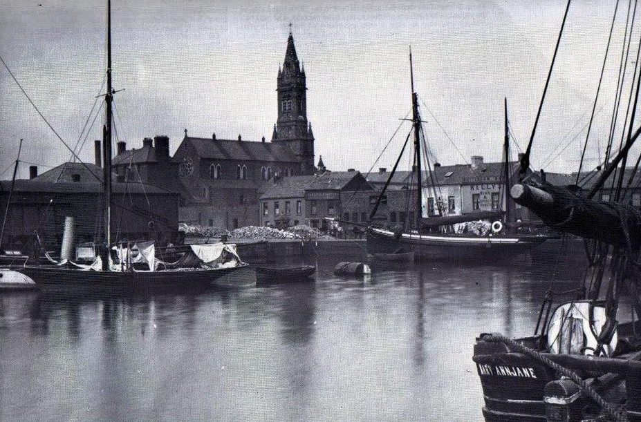 Historic view from the docks