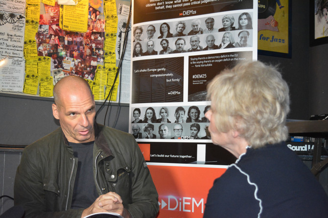 Exclusive: Yanis Varoufakis starts a new Italian political movement in March 2018