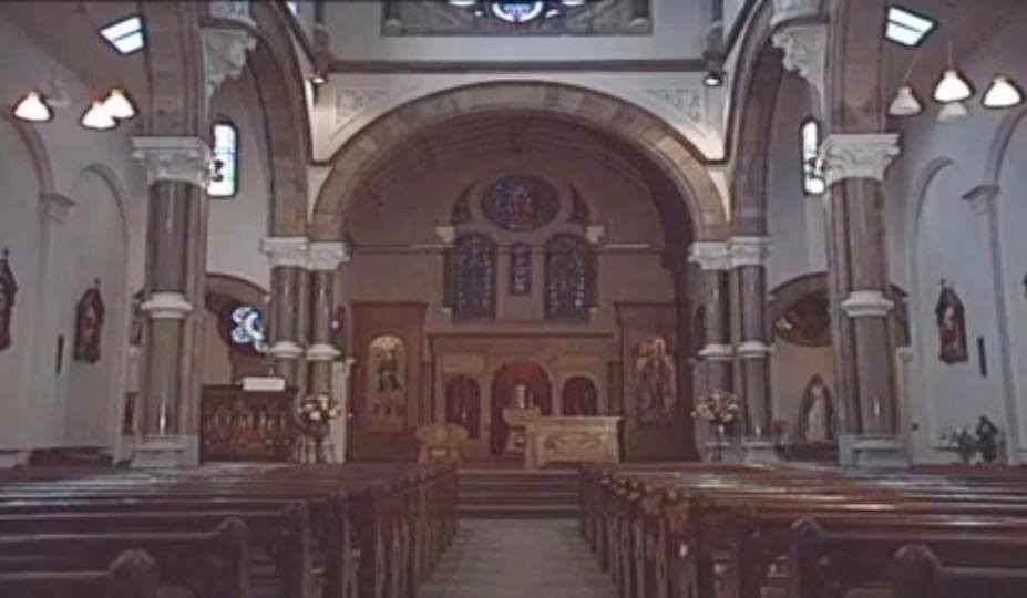 The church before dereliction