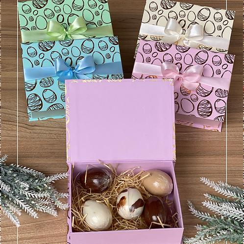 Caixa Cartonada  com Ovos Trufados