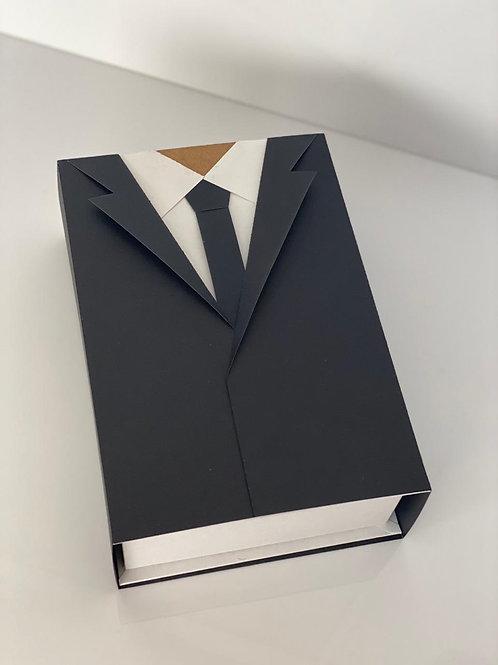 Caixa Cartonada  Modelo Terno