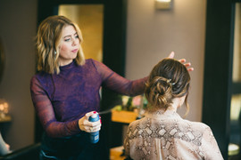 Style, Spray + Set by Crystal | Unite Professionel