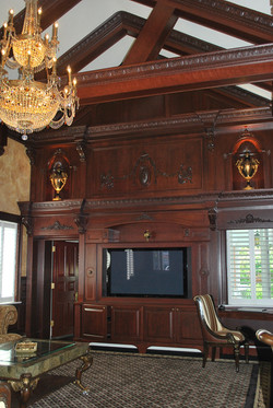Custom Wall/TV Unit and Woodworking
