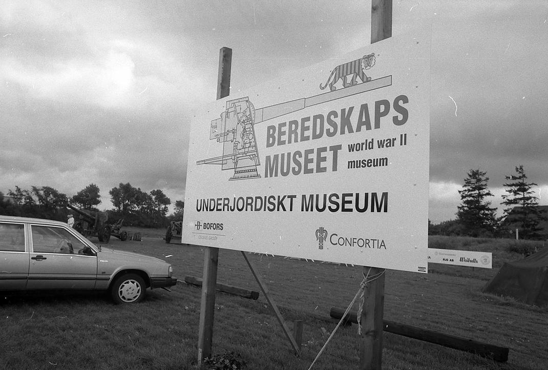 Entrén till museet år 1997
