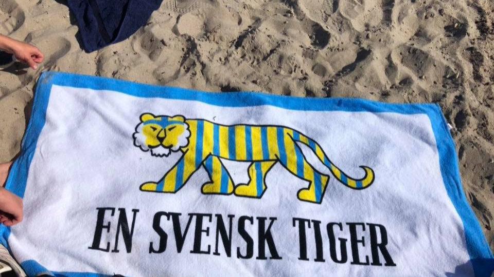 """Badlakan """"En Svensk Tiger"""""""