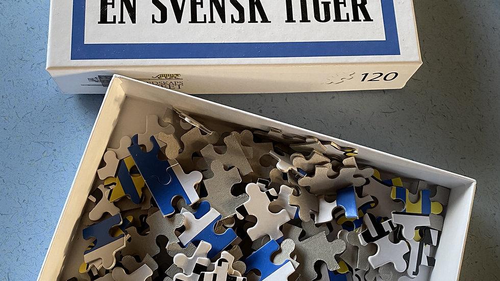 """Pussel """"En Svensk Tiger"""""""