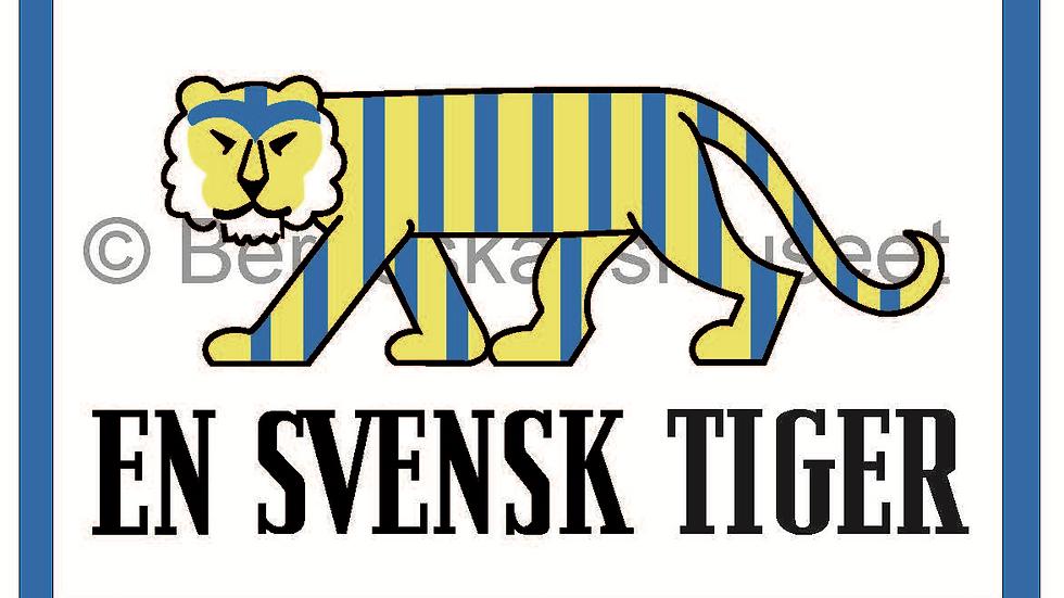 Tygmärke En Svensk Tiger