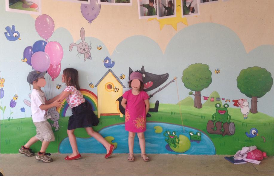 fresques dans les écoles