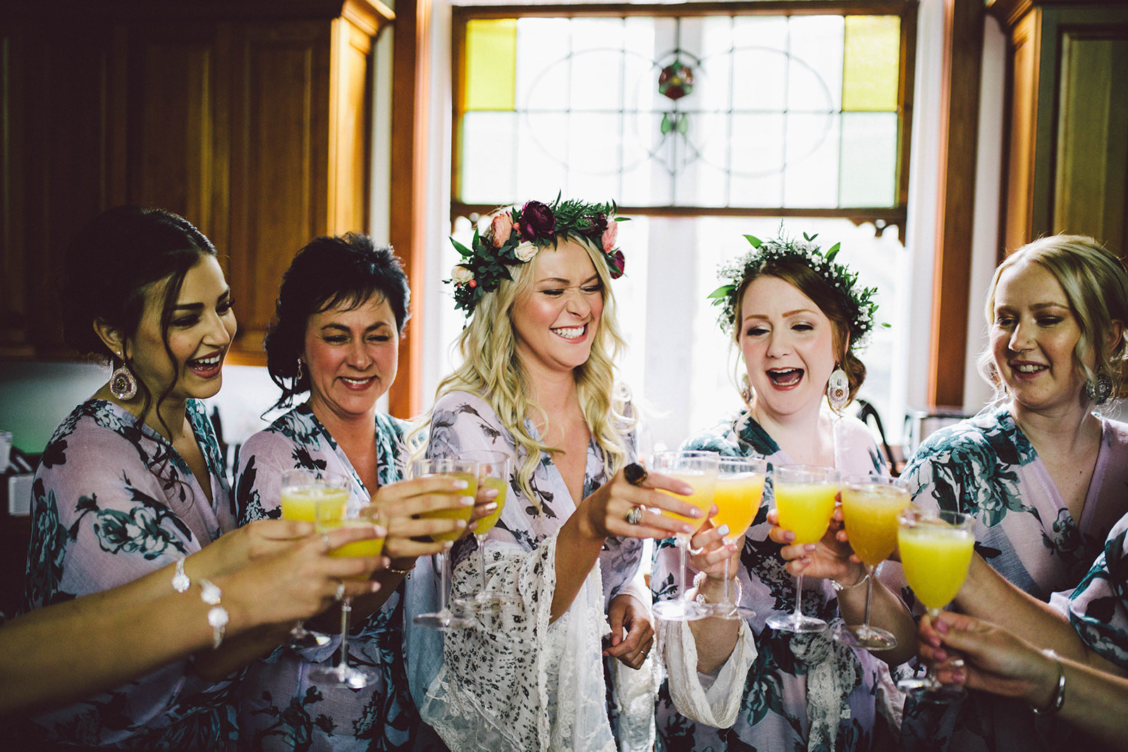 Mimosa's on your weddin day are mandatory.