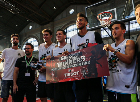 Lausanne 3x3 is Swiss Champion 2019