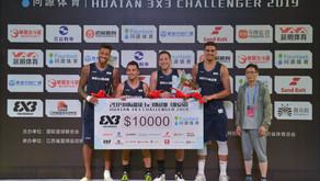 Lausanne Ranks Second at the FIBA Huai'an Challenger 2019