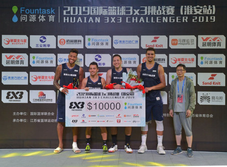 Lausanne Ranks Second at the FIBA Huai'an Challenger 2019