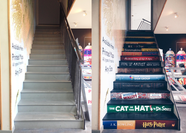 Stairs/Books