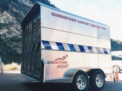 Queenstown Airport Trailer
