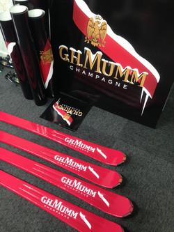 GH Mumm Champagne Install