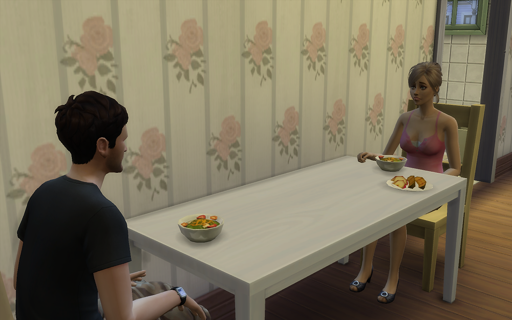 Just Served Dinner for Me and Tara