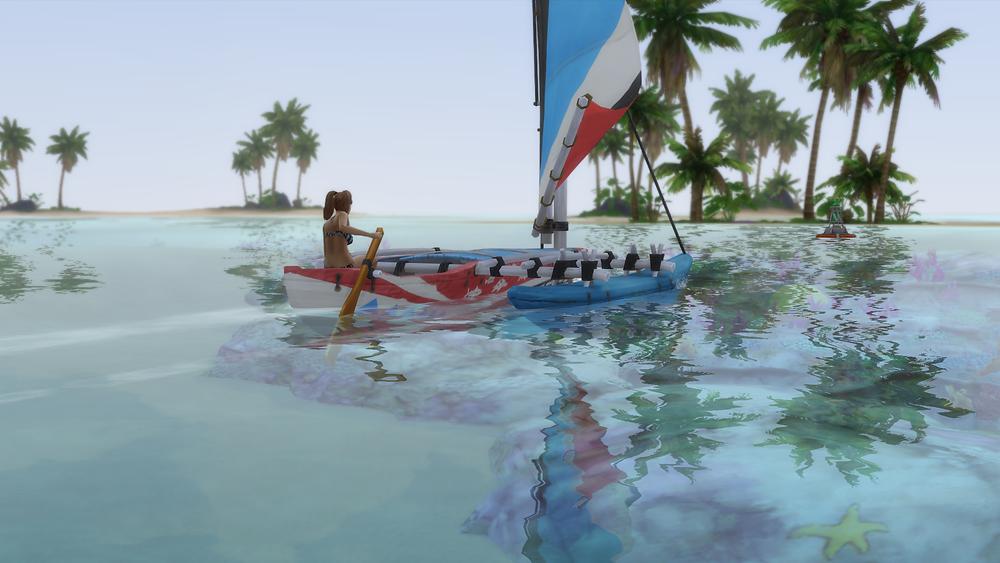 Tara sailing