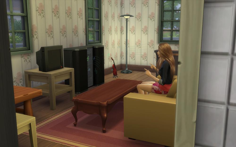 Watching Tara Enjoy Music