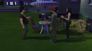 Me, Genevieve, and Andrew