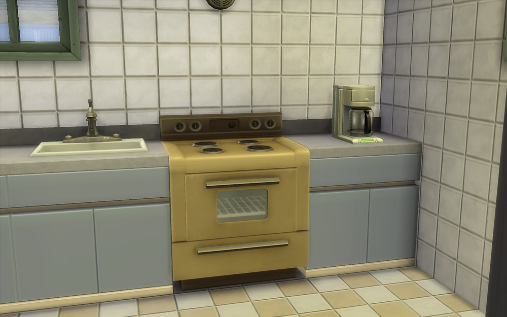 Repaired Oven