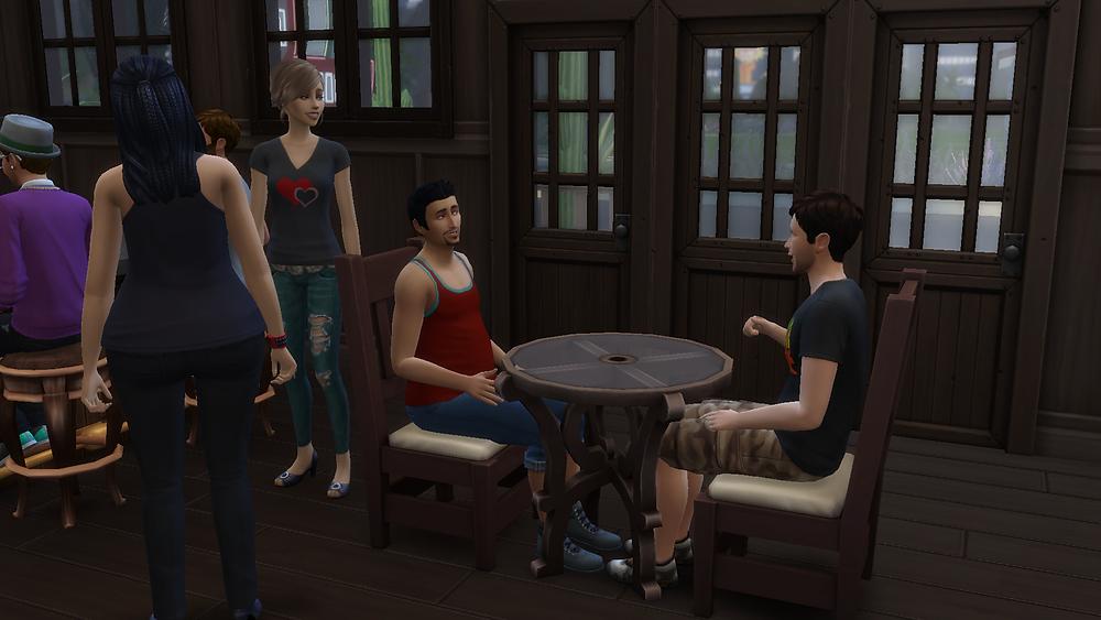 Me, Tara, Genevieve, and Stephon