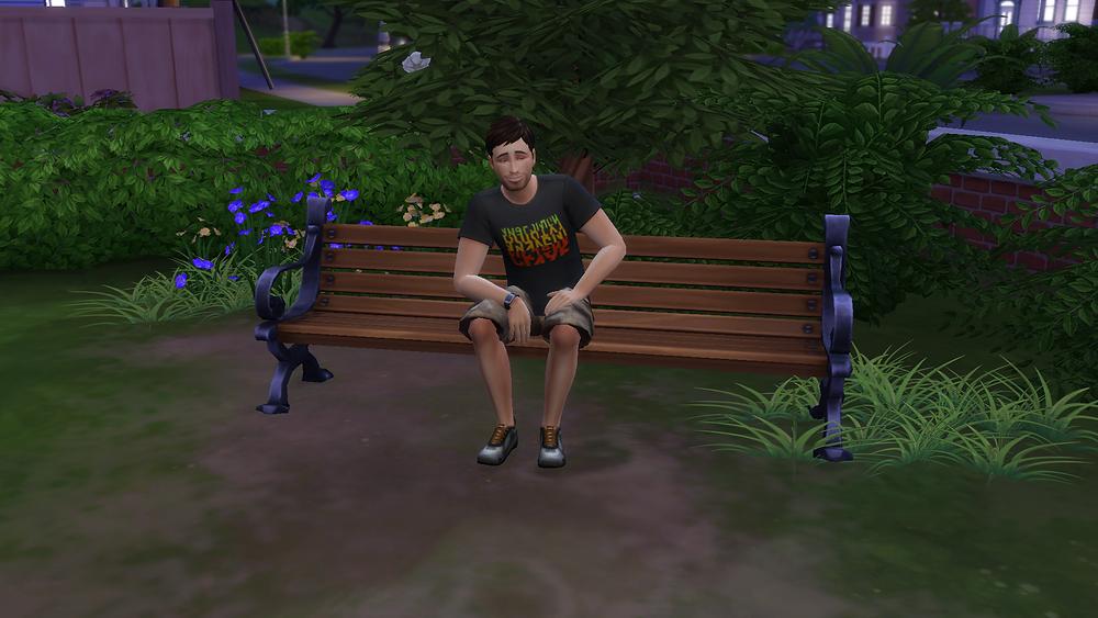 Sitting in Somebody's Backyard