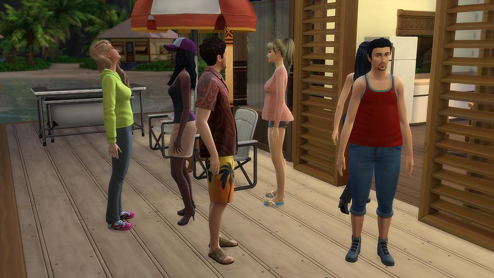 Me, Tara, Genevieve, Stephon, Harper, and Lydia