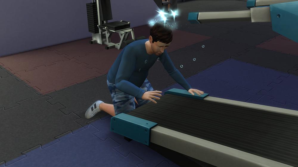 Fell on the Treadmill