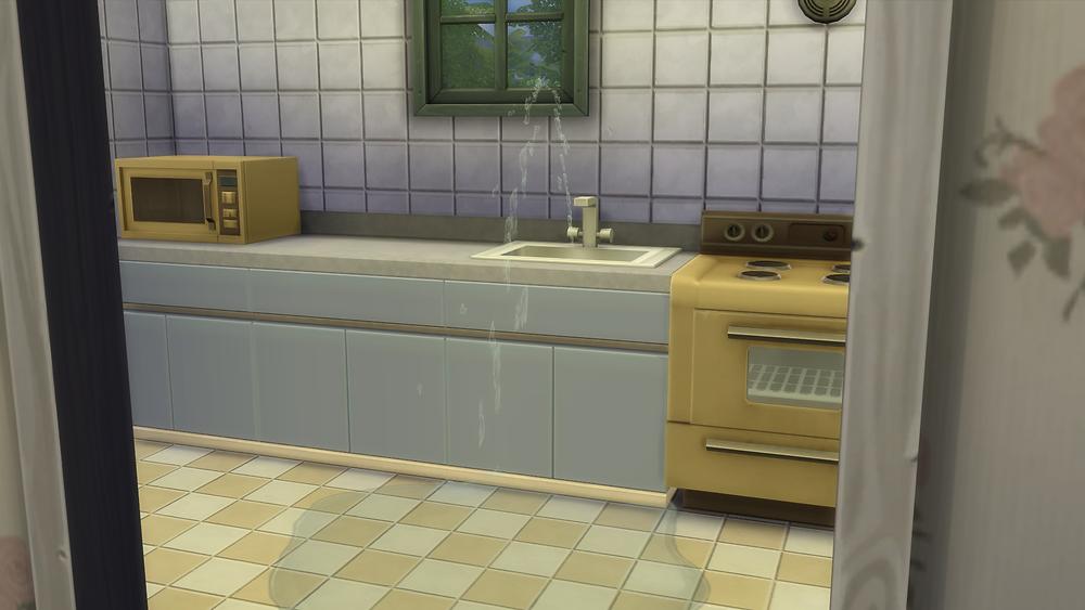Broken Kitchen Sink