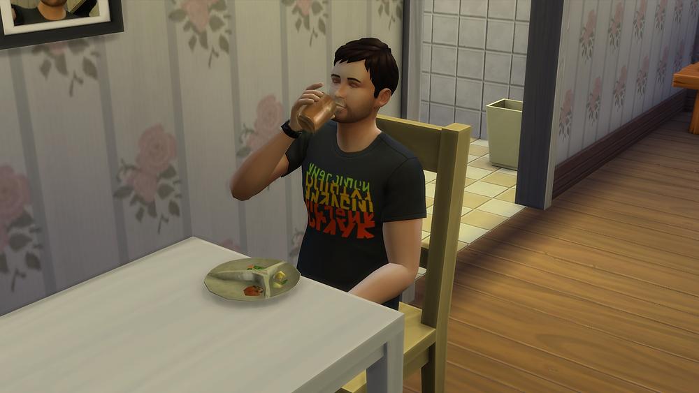 Drinking and Having Dinner