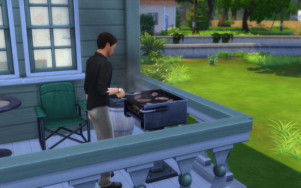 Grilling Some Chicken