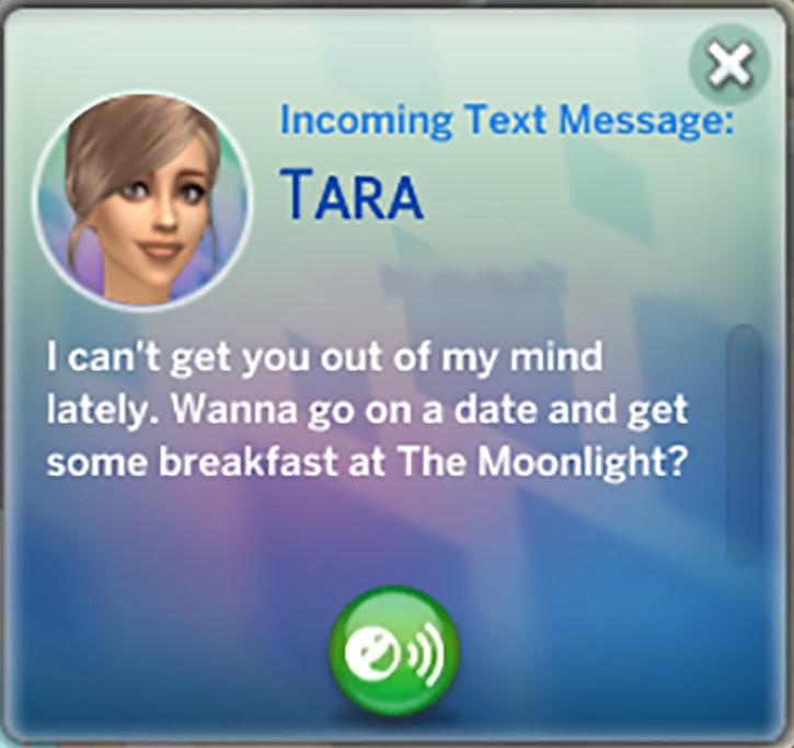 Tara Sent Me a Text