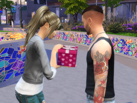 Romance at the Flea Market