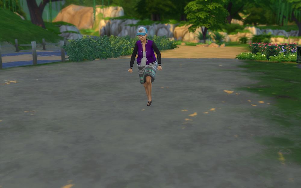 Some Lady Walking