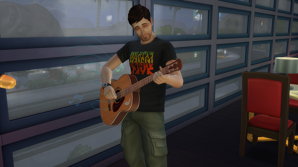 Singing and Playing the Guitar